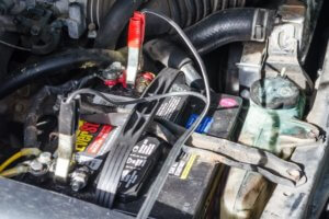Charge car battery
