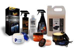 Forms Of Car Wax