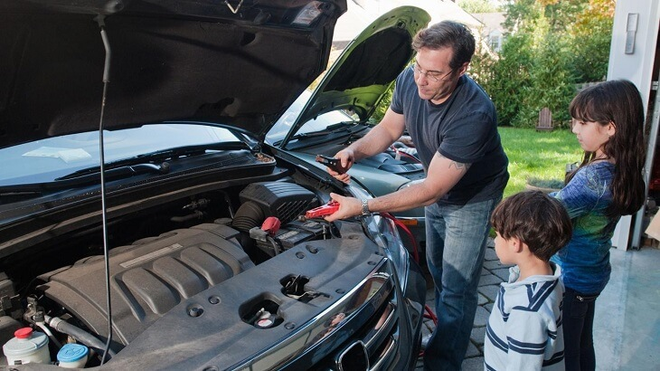 Replace a Car Battery