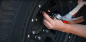 Hammer The Socket On The Stripped Lug Nut