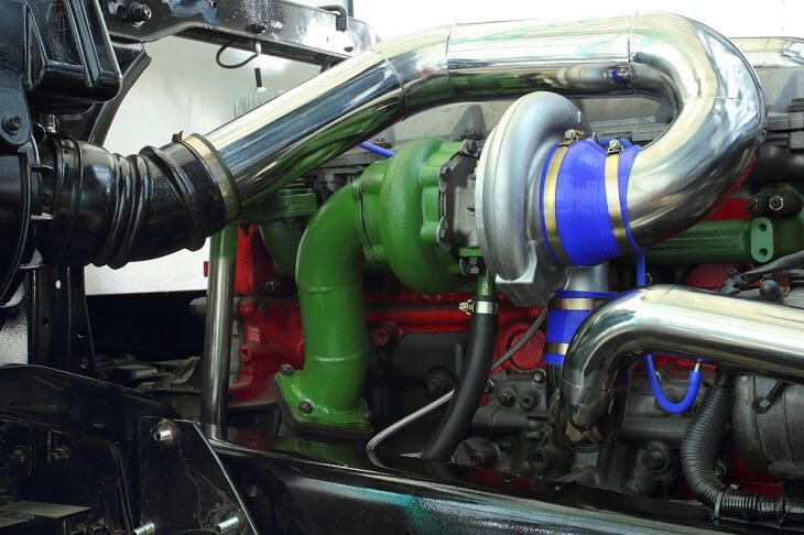 Turbocharger diesel engine