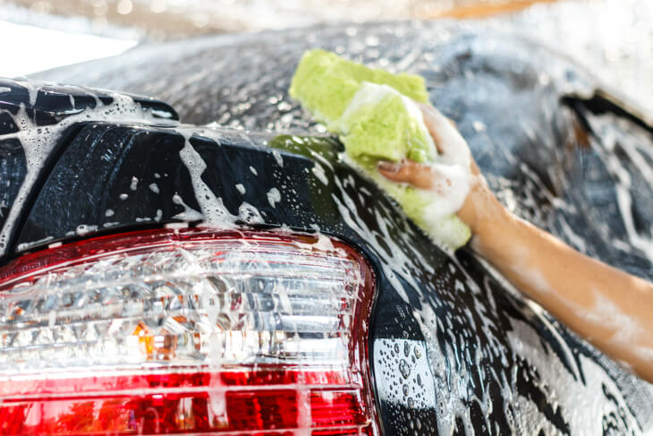 How To Wash A Car - Step 3