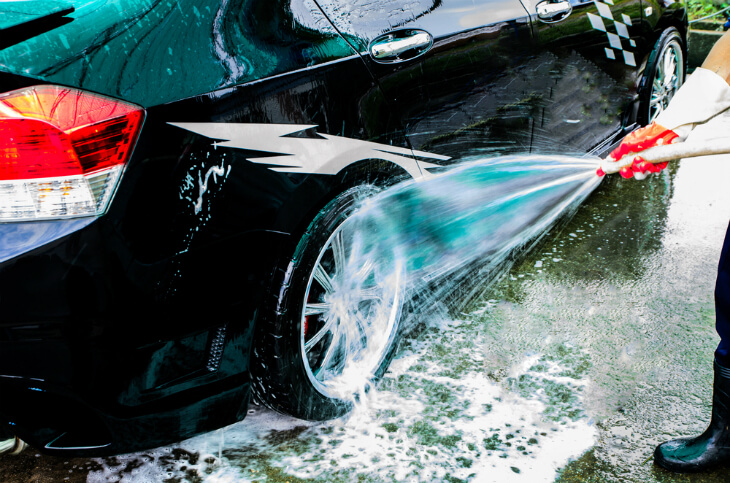 How To Wash A Car - Step 4