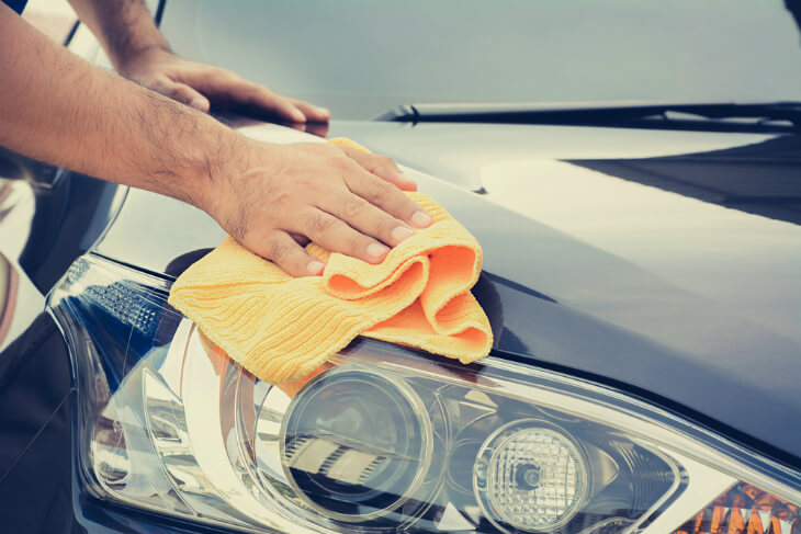 How To Wash A Car - Step 5