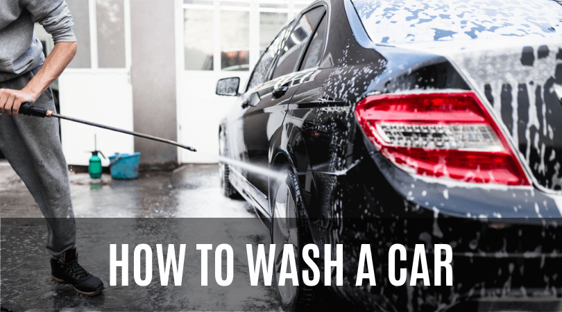 How To Wash A Car