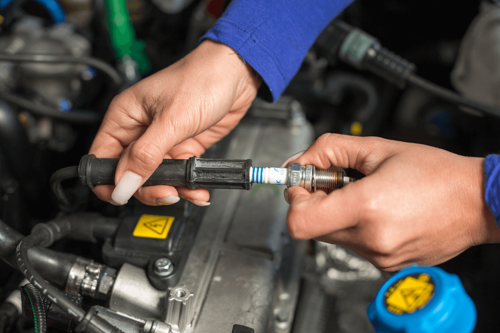 Change The Spark Plugs