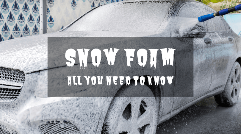 Will My Car Benefit From Snow Foam?