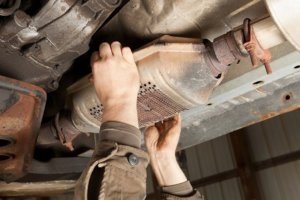 Removing the Catalytic Converter