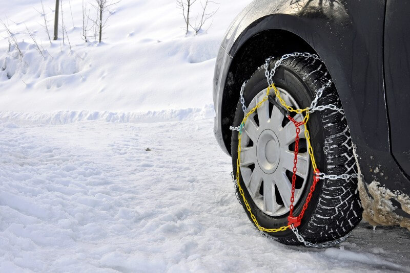 Tire Chains or Snow Chains