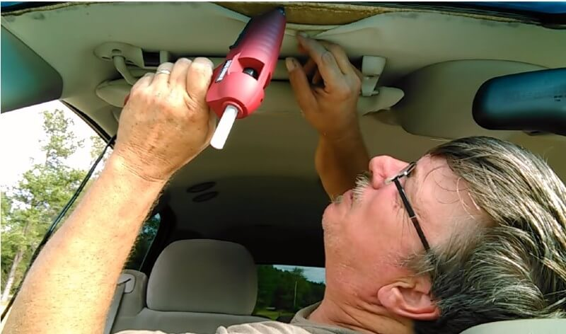How To Fix Sagging Headliner In Your Car