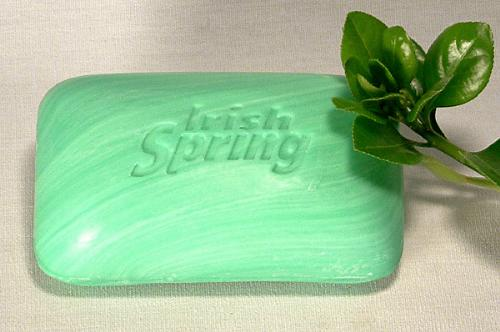 Irish spring soap