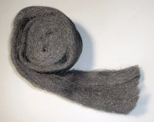 Use steel wool to stuff the holes where mice have entered