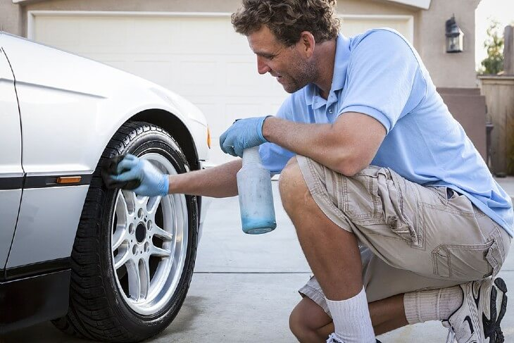 Washing Your Vehicle: Prevent tire blooming by regularly cleaning the tires.