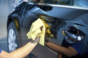 Washing Your Vehicle: Dry the vehicle using a microfiber drying cloth.
