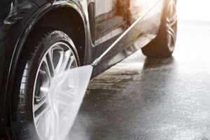 Paint Decontamination: Rinse well after claying the wheels