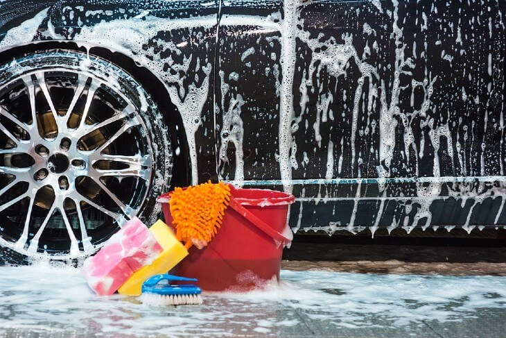 Washing Your Vehicle: Understanding the difference between washing and detailing.